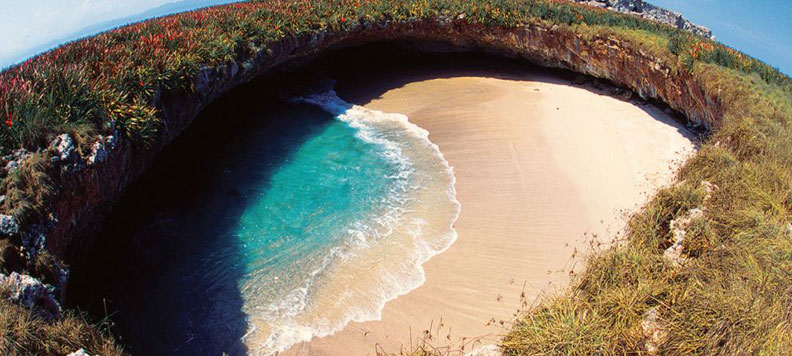 Marietas, hidden place in the world